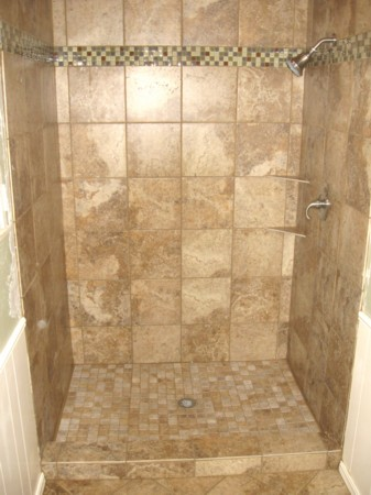 Diy bathroom shower stall tile installation tips pm press Tile shower stalls