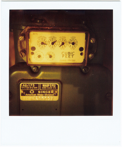 Inside A Gas Meter : What s inside that grey gas meter box pm press