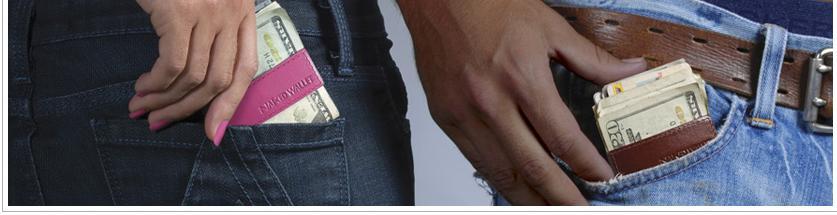 I hate big fat wallets