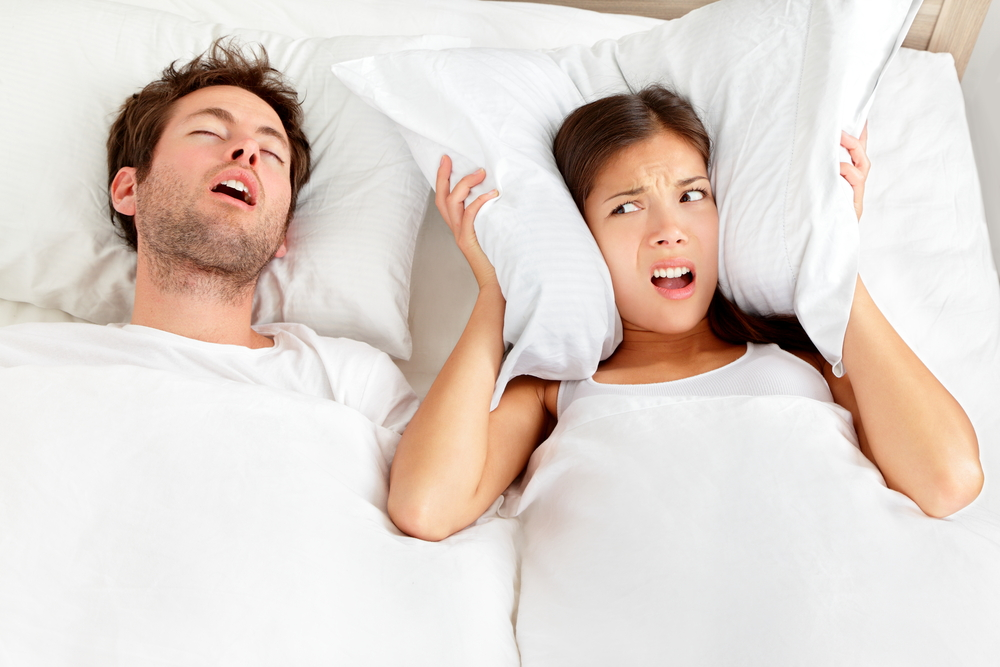 The unhealthy effects of snoring.
