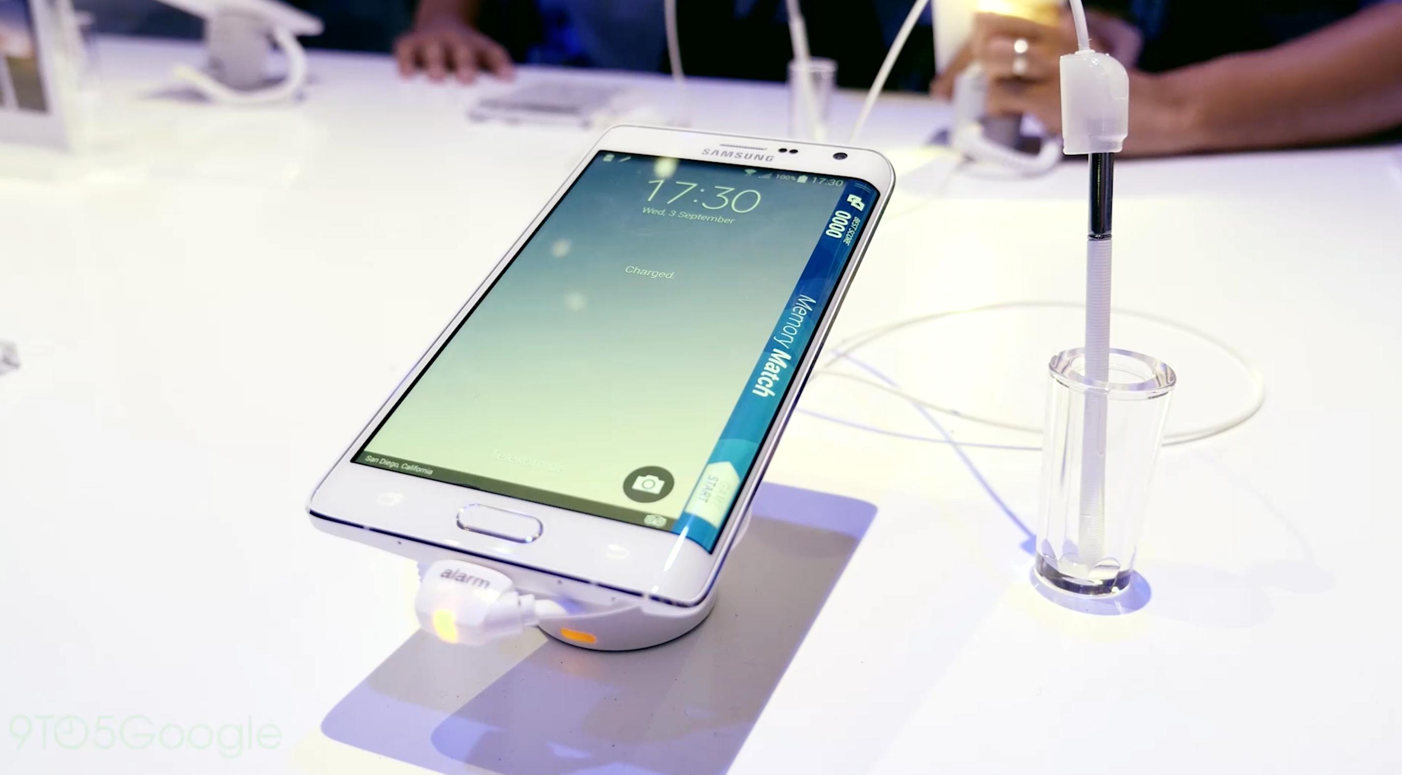 Samsung Galaxy Note Edge: Unique Android Smartphone