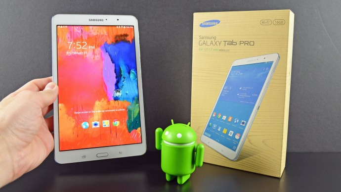 Samsung Galaxy Tab Pro 8.4: Compact Android Tablet