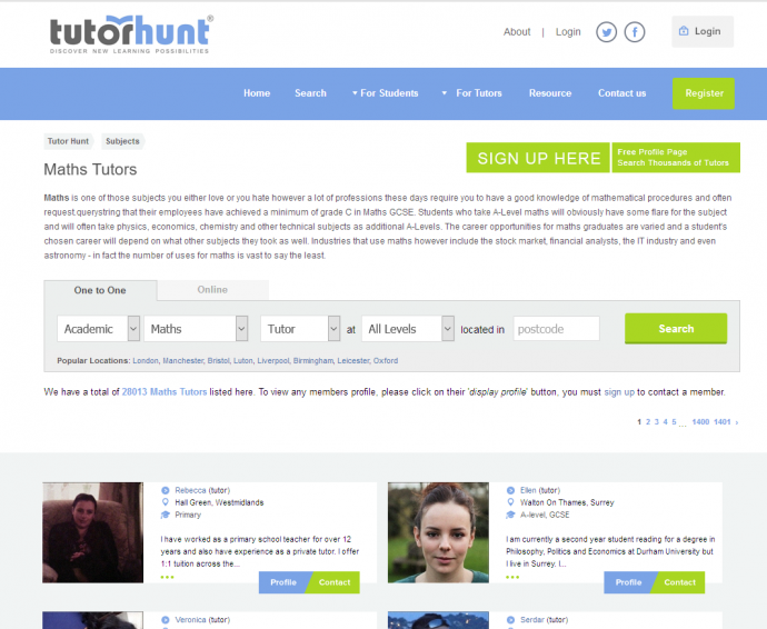 Looking To Find A Suitable Teacher? – Check TutorHunt