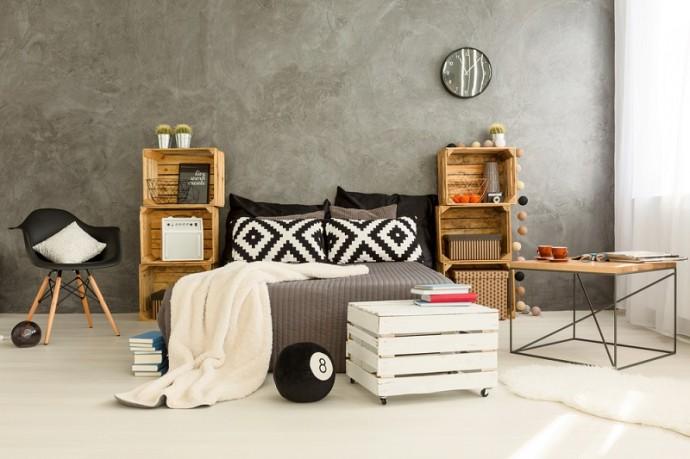 Wooden Storage Crates - Creative Ideas
