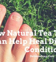 How Natural Tea Tree Oil Soap Can Help Heal Difficult Skin Conditions