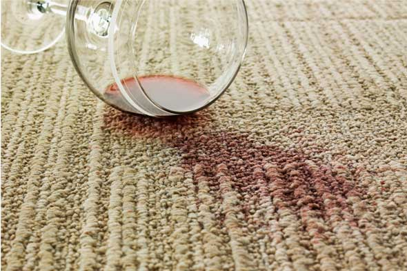 How to Recover from a Wine Spill on Your Carpet