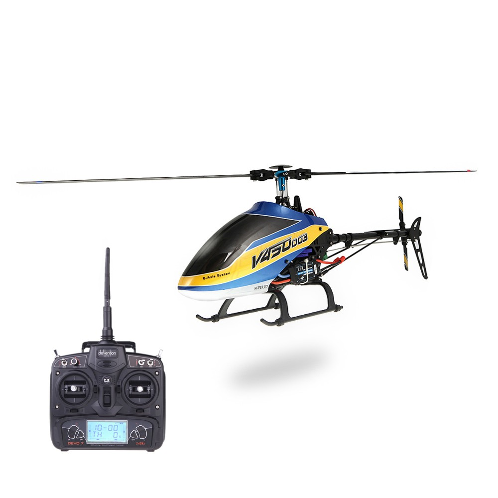 Technical Features Of Remote Controlled Helicopters Like Walkera V450d03