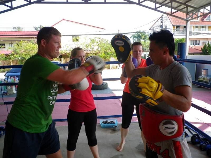 Anyone Can Check In At Muay Thai Camp or Gym In Thailand