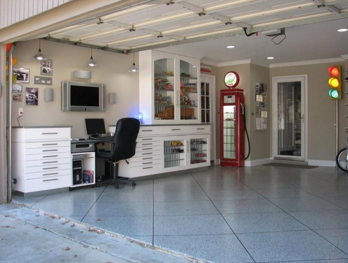 The Man Cave: 7 Ways To Fix Up Your Garage For The Ultimate Escape