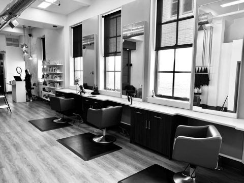 An attractively designed salon
