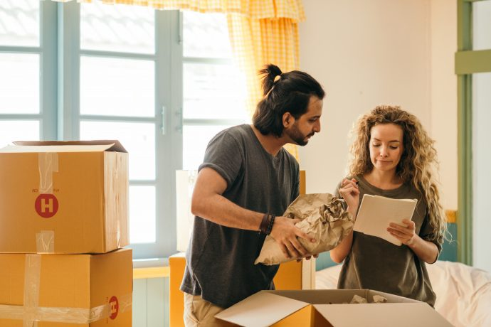 How to Organize Your Belongings When Moving from A House to An Apartment